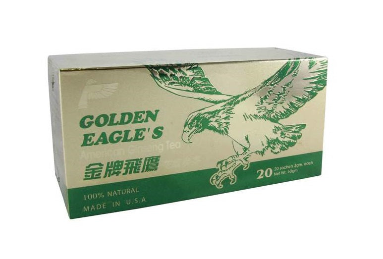 Golden Eagle American Ginseng Tea from Golden Eagle - Herbal Products Direct