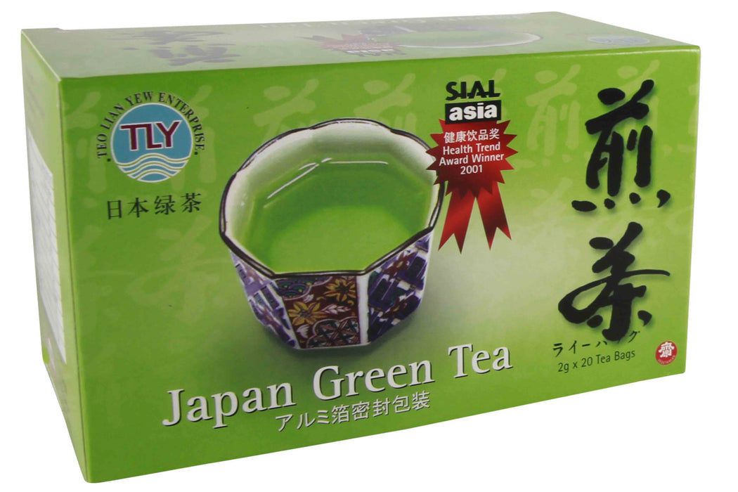 Japanese Green Tea from TLY - Herbal Products Direct