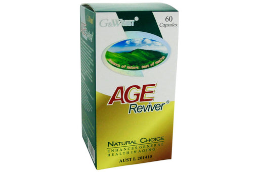 Age Reviver - G&W Aust - Australian Made from G&W Aust - Herbal Products Direct