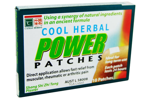 Cool Herbal Power Patches from Cathay Herbal - Herbal Products Direct