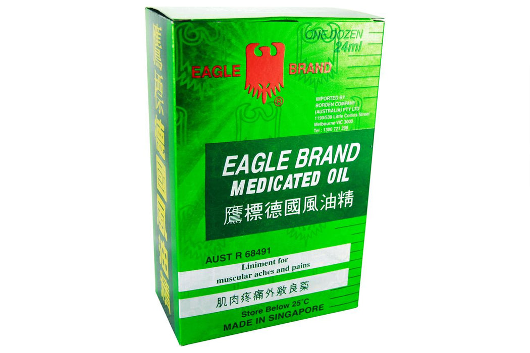 Eagle Brand Medicated Oil from Eagle Brand - Herbal Products Direct