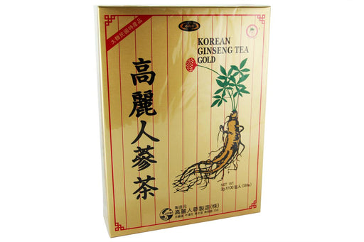 Korean Ginseng Tea Gold Label from Korean Ginseng Tea - Herbal Products Direct