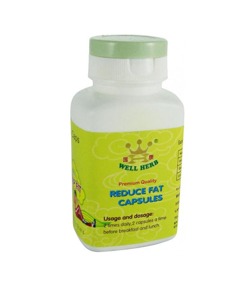 Keep Fit Reduce Fat Capsules - BOTTLE 60 CAPS from Well Herb - Herbal Products Direct