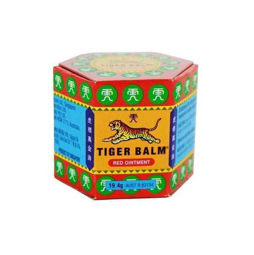 Tiger Balm Red Ointment from Tiger Balm - Herbal Products Direct