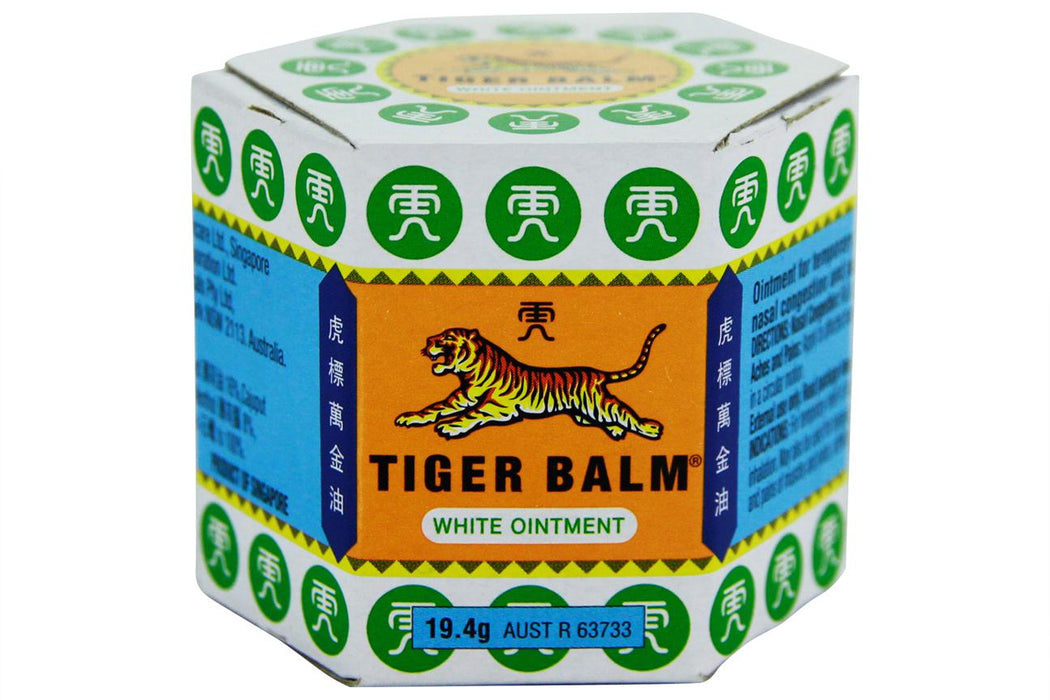 Tiger Balm White Ointment from Tiger Balm - Herbal Products Direct