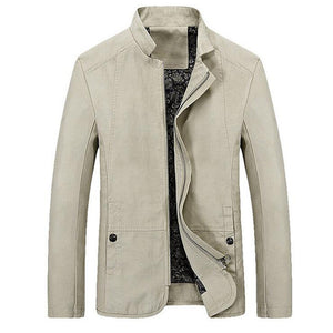 Casual Crew Jacket - Loot & Ivory