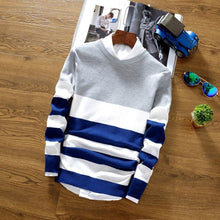 English Style Urban Striped Sweater - Loot & Ivory
