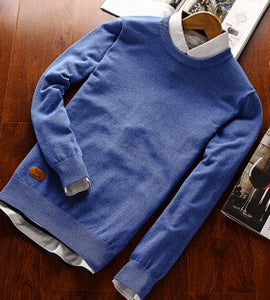 Authentic Classic Wool Pullover - Loot & Ivory