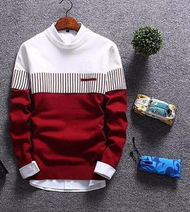 Men's Casual Jumper - Loot & Ivory