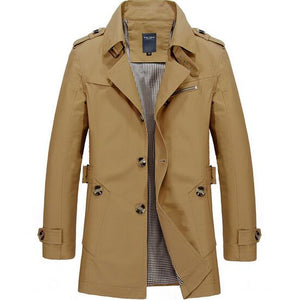 Plush Winter Trench Coat - Loot & Ivory