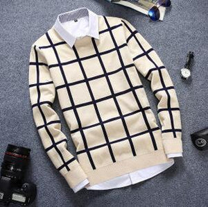 English Style Contemporary Pullover - Loot & Ivory