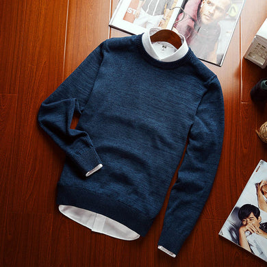 English Style Urban Casual Sweater - Loot & Ivory