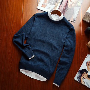 Contemporary Slim Fit Pullover - Loot & Ivory