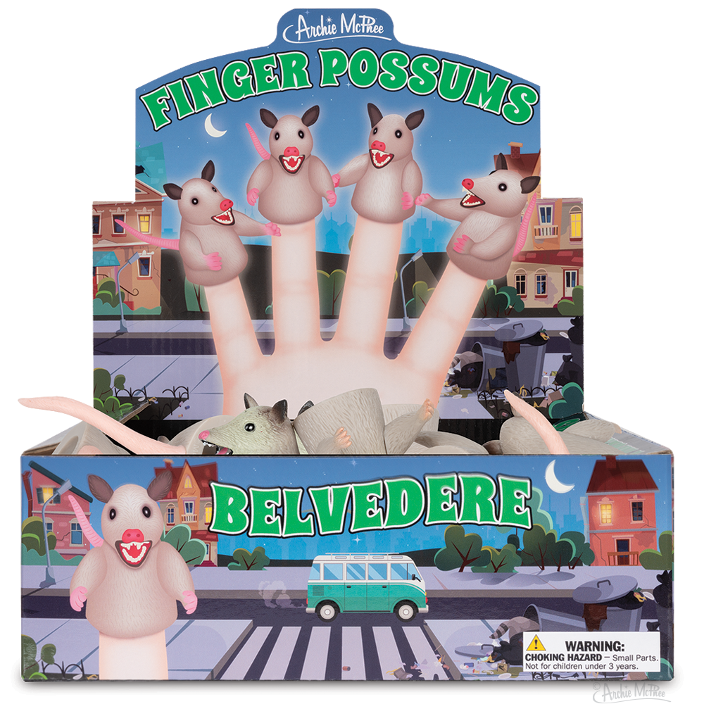 Finger Possums