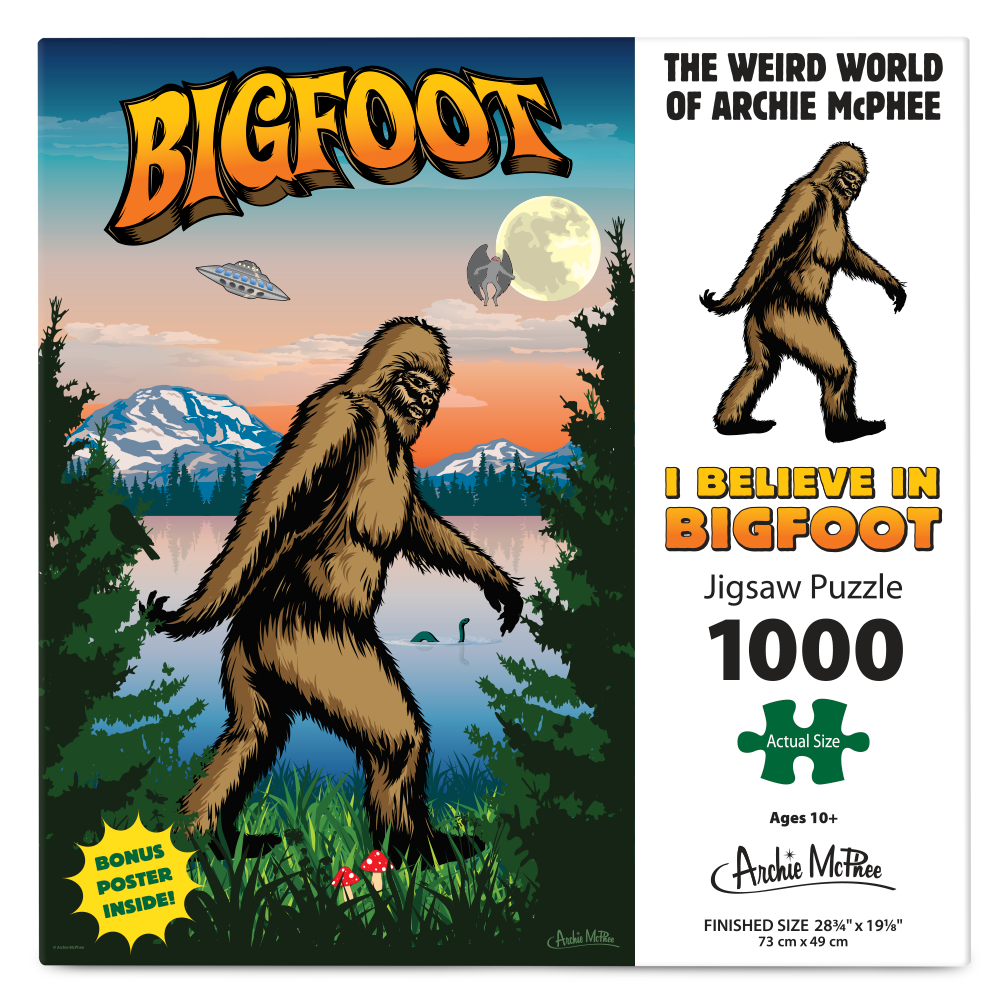 I Believe in Bigfoot Puzzle