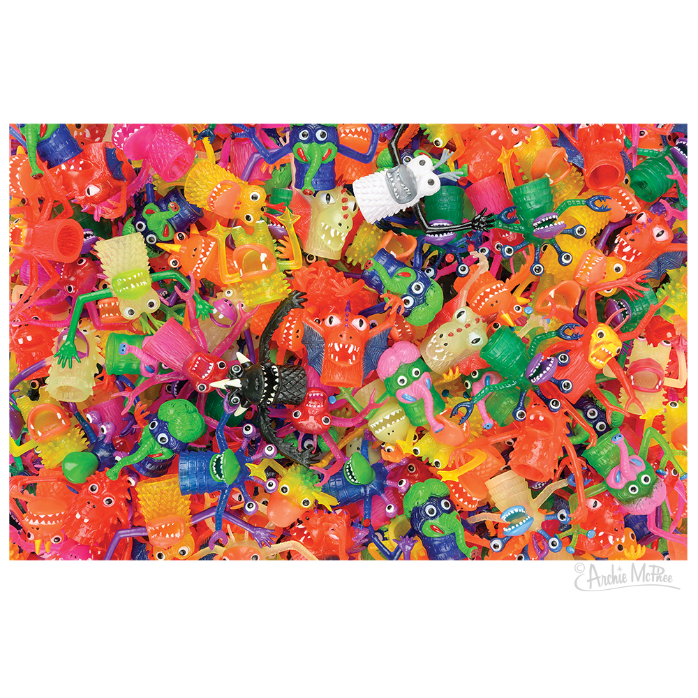 Finger Monster Fiesta Puzzle