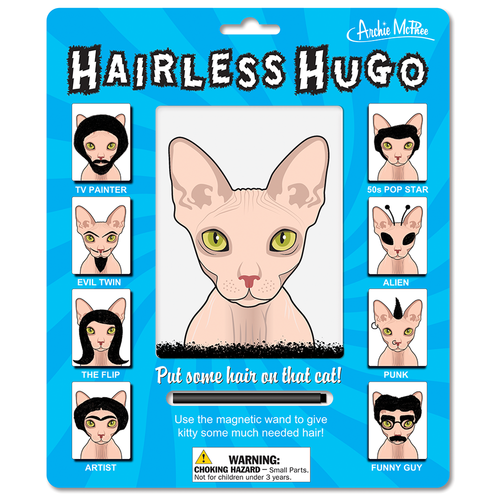 Hairless Hugo
