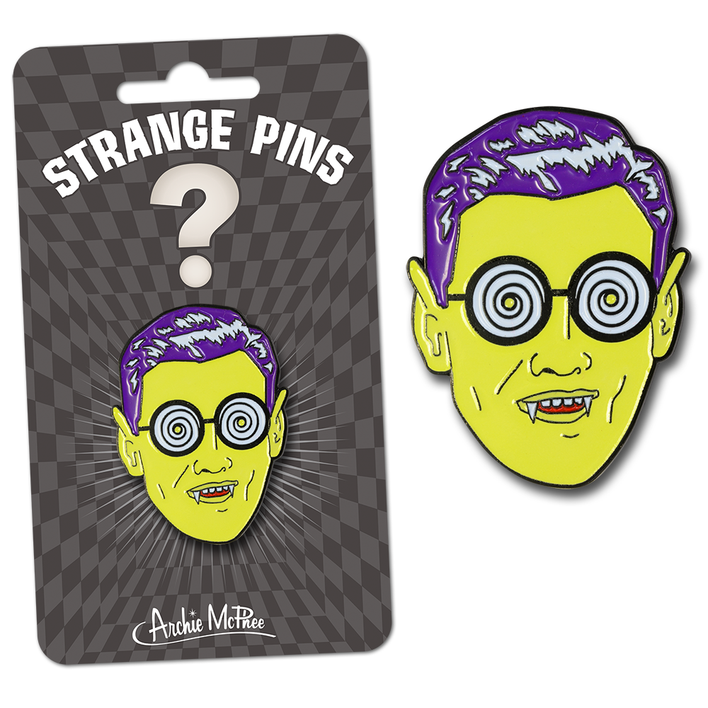 Monster Guy Strange Pin
