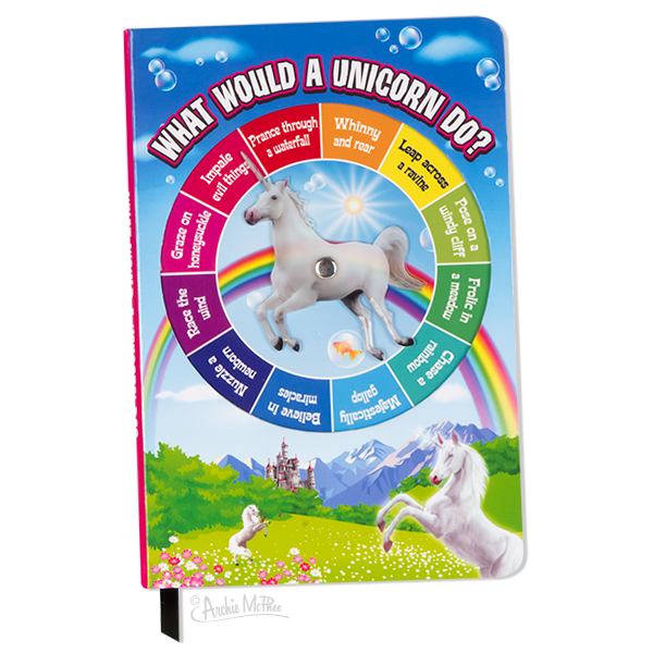 Unicorn Spinner Notebook