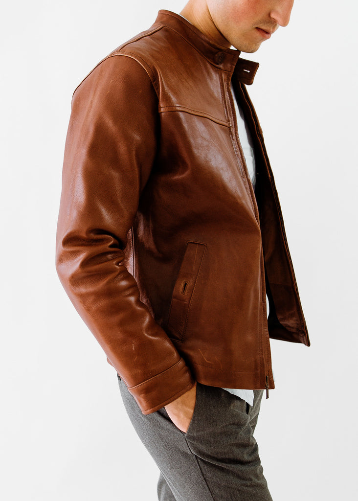 Ashbee Cafe Racer in Tobacco Brown