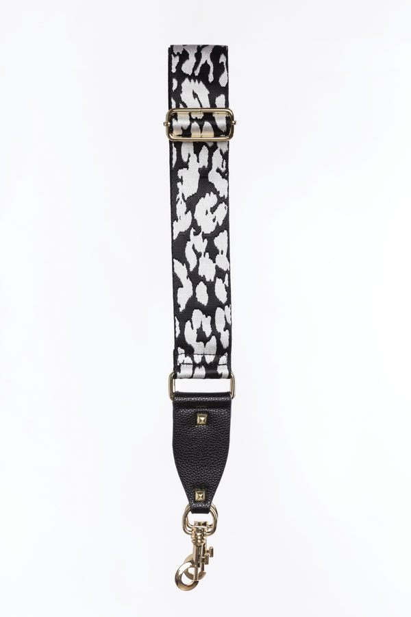 Bag Strap - White Leopard, Accessories - Repertoire NZ, New Zealand Fashion, Womenswear, Womens Clothing