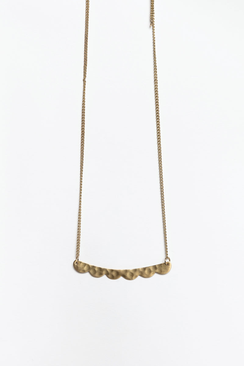 Noa Gold Bar Necklace, Accessories - Repertoire NZ, New Zealand Fashion, Womenswear, Womens Clothing