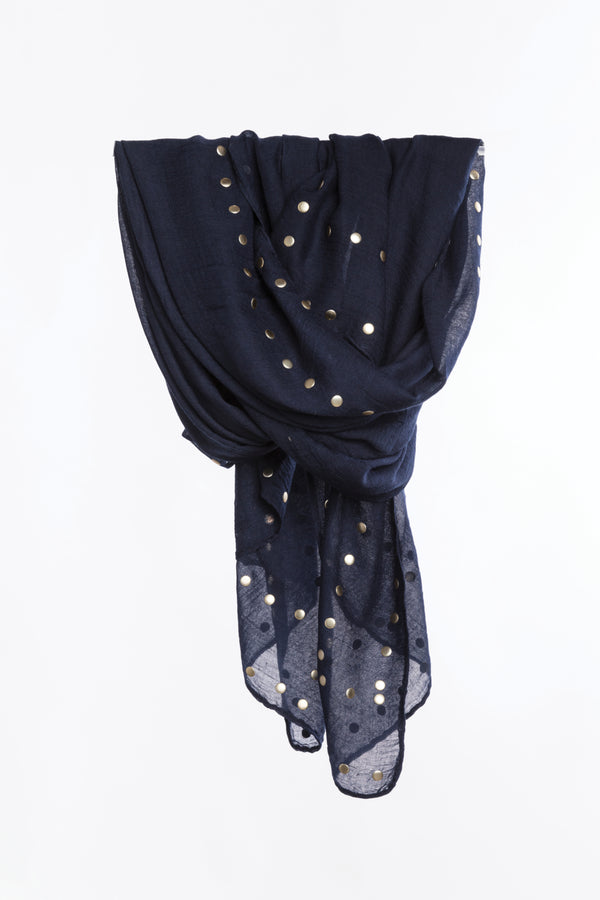 Studded Scarf, Accessories - Repertoire NZ, New Zealand Fashion, Womenswear, Womens Clothing