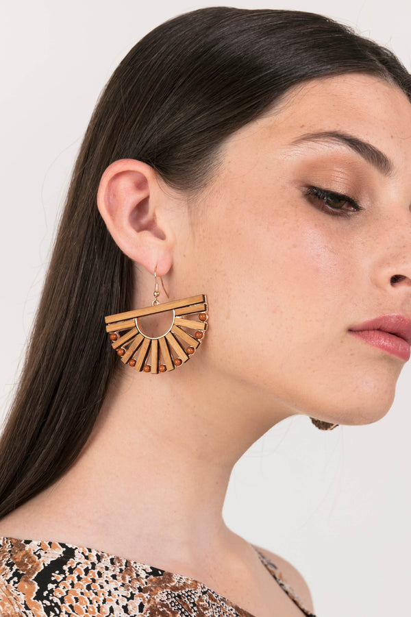 Bamboo Circle E/R, Accessories - Repertoire NZ, New Zealand Fashion, Womenswear, Womens Clothing