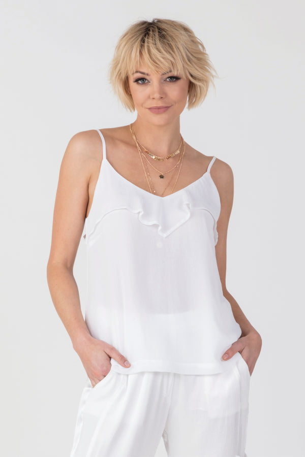 Calm Cami, Tops - Repertoire NZ, New Zealand Fashion, Womenswear, Womens Clothing