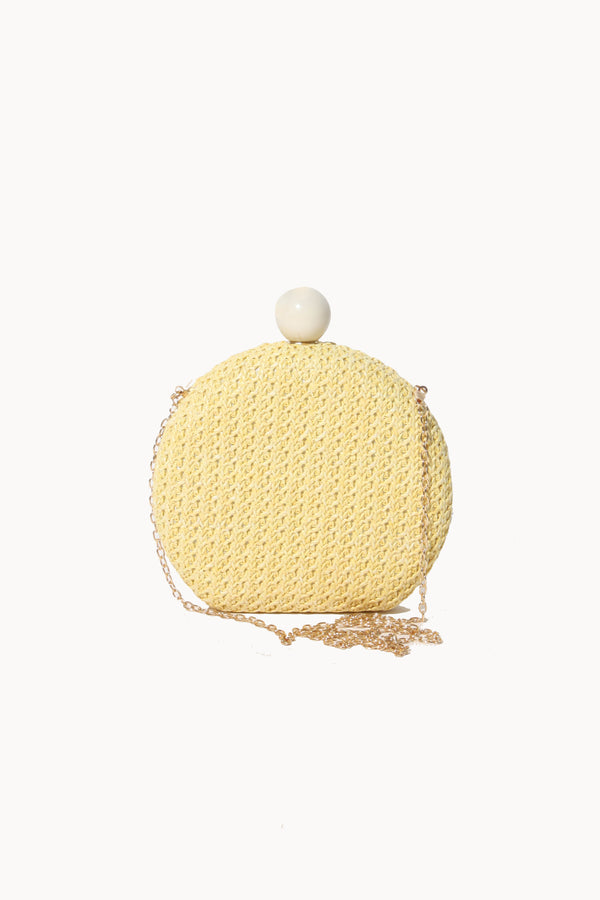 Round Clasp Clutch, Bag - Repertoire NZ, New Zealand Fashion, Womenswear, Womens Clothing