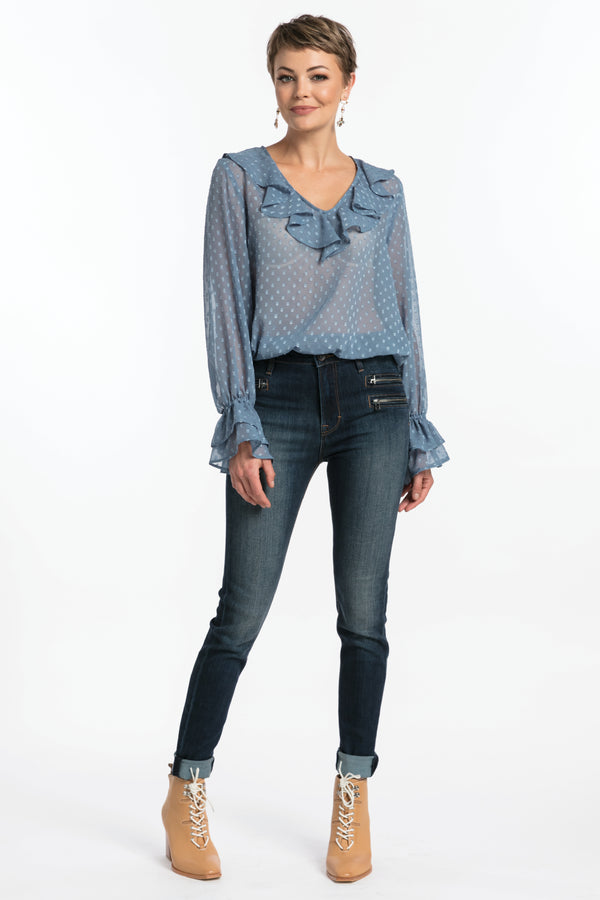 Gypsy High Rise - Vintage, Jeans - Repertoire NZ, New Zealand Fashion, Womenswear, Womens Clothing