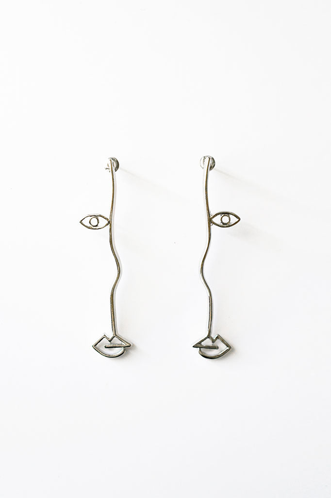 Half Face Earring, Accessories - Repertoire NZ, New Zealand Fashion, Womenswear, Womens Clothing