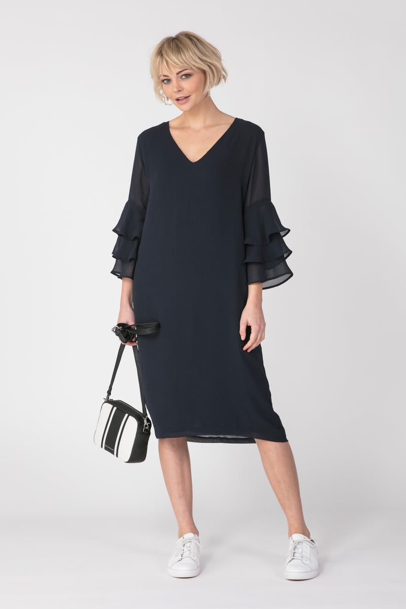 Flame Dress, Dress - Repertoire NZ, New Zealand Fashion, Womenswear, Womens Clothing
