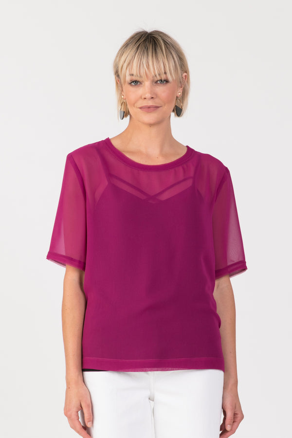 Harper Top, Top - Repertoire NZ, New Zealand Fashion, Womenswear, Womens Clothing