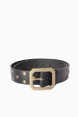 Square Brass Buckle Belt, Accessories - Repertoire NZ, New Zealand Fashion, Womenswear, Womens Clothing