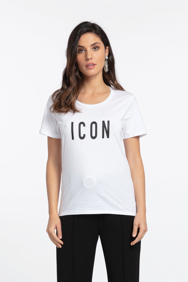 Icon Printed Tee, T-Shirt - Repertoire NZ, New Zealand Fashion, Womenswear, Womens Clothing