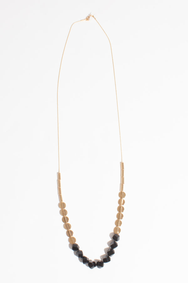 Bead & Metal Necklace, Jewellery - Repertoire NZ, New Zealand Fashion, Womenswear, Womens Clothing