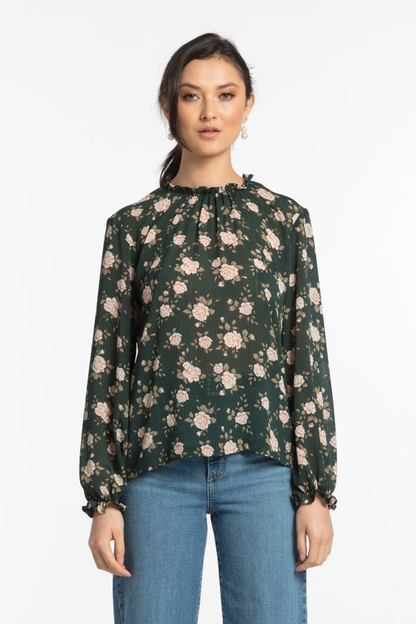 Moss Blouse, Top - Repertoire NZ, New Zealand Fashion, Womenswear, Womens Clothing