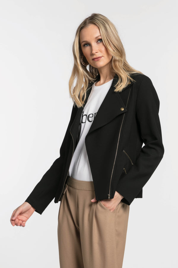Moto Jacket, Jacket - Repertoire NZ, New Zealand Fashion, Womenswear, Womens Clothing