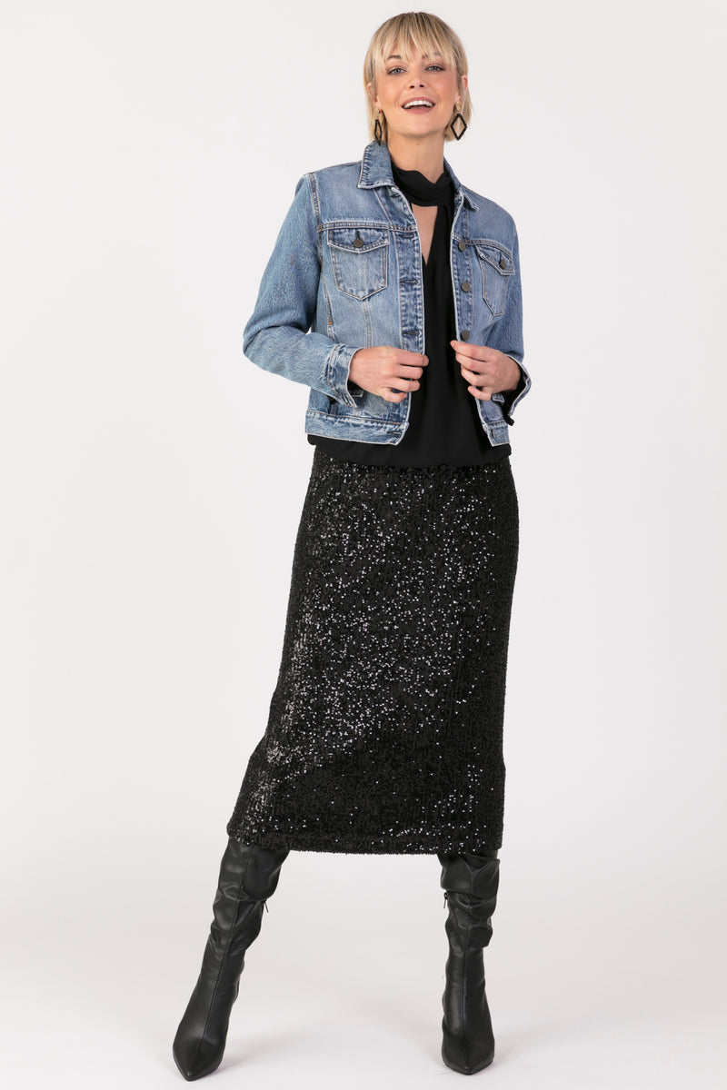 Original Denim Jacket, Jacket - Repertoire NZ, New Zealand Fashion, Womenswear, Womens Clothing