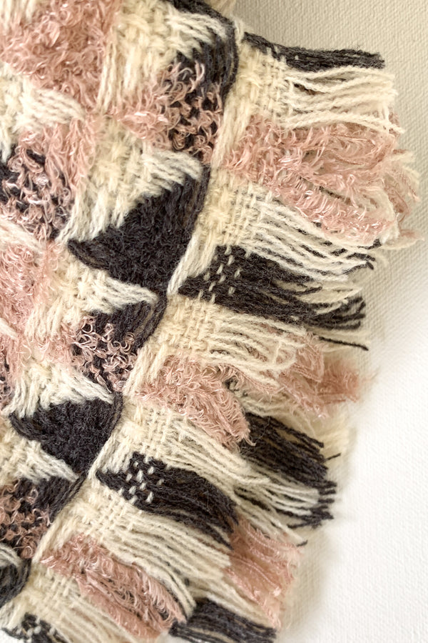 Soft Tones Frayed Scarf