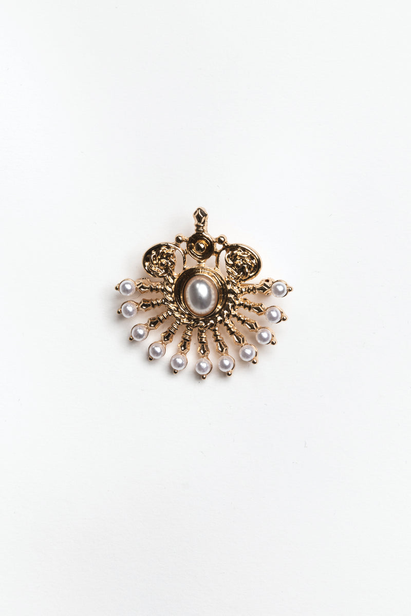 Brooch, Accessories - Repertoire NZ, New Zealand Fashion, Womenswear, Womens Clothing