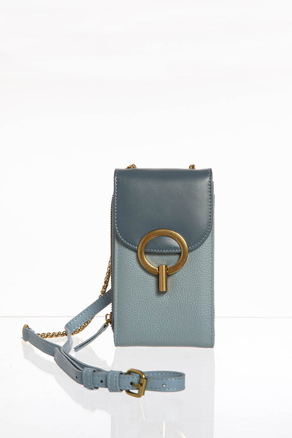 Leather Flap Bag