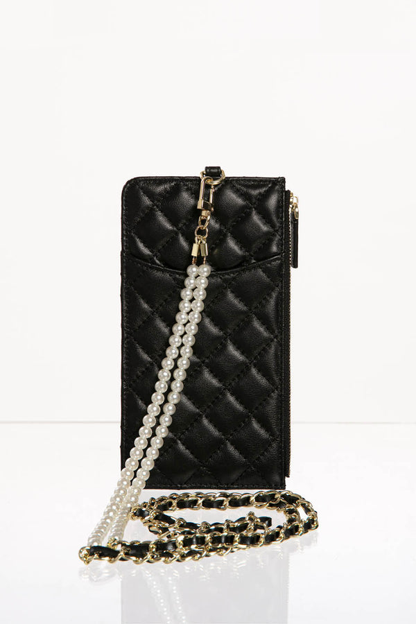 Leather Cross Body Phone Bag