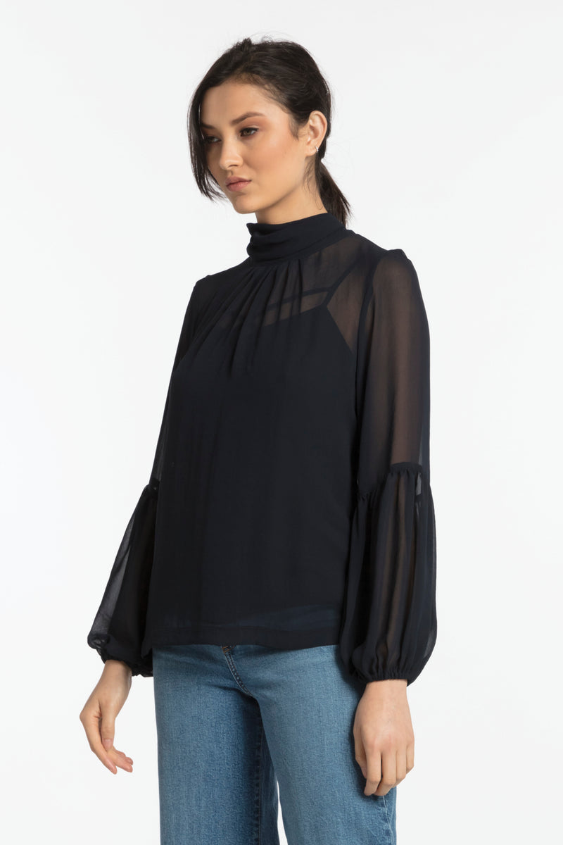 Raine Blouse, Top - Repertoire NZ, New Zealand Fashion, Womenswear, Womens Clothing
