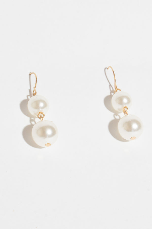 Small Drop Pearl Earring, Jewellery - Repertoire NZ, New Zealand Fashion, Womenswear, Womens Clothing