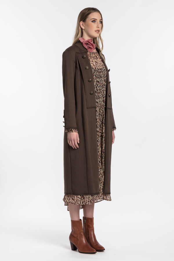 Suffragette Coat, Jackets - Repertoire NZ, New Zealand Fashion, Womenswear, Womens Clothing