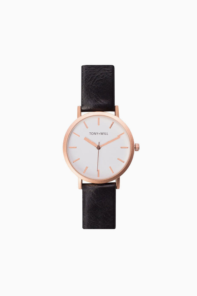Watch - Leather Strap (Various Colours)