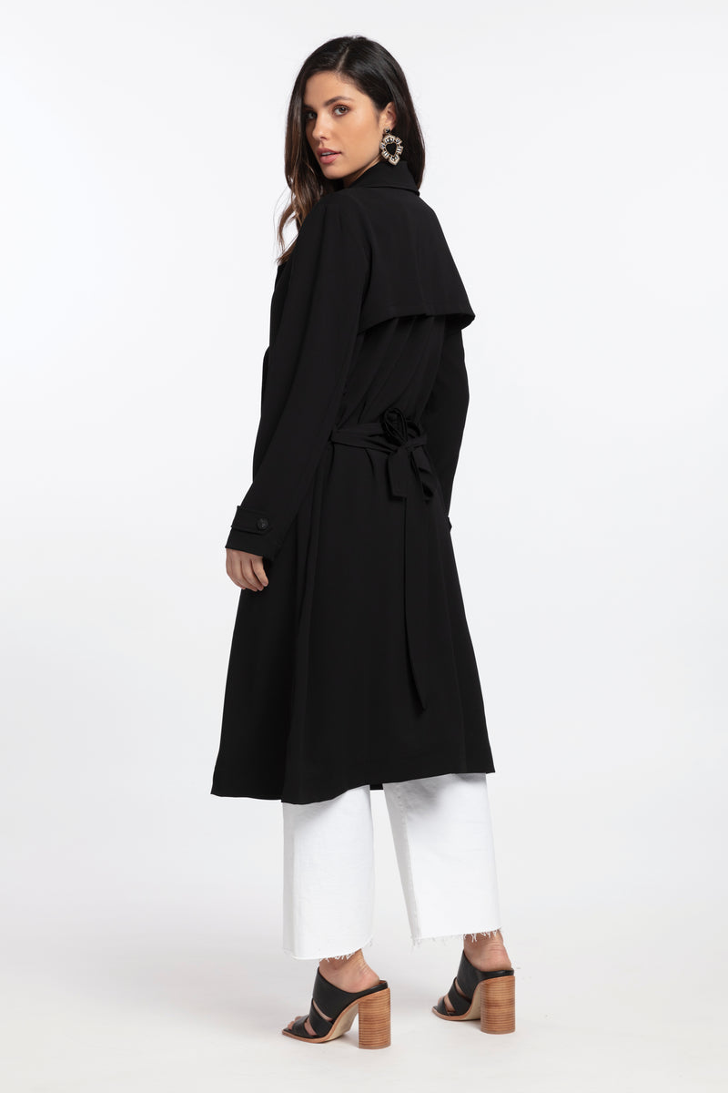 Trudy Trench, Jacket - Repertoire NZ, New Zealand Fashion, Womenswear, Womens Clothing