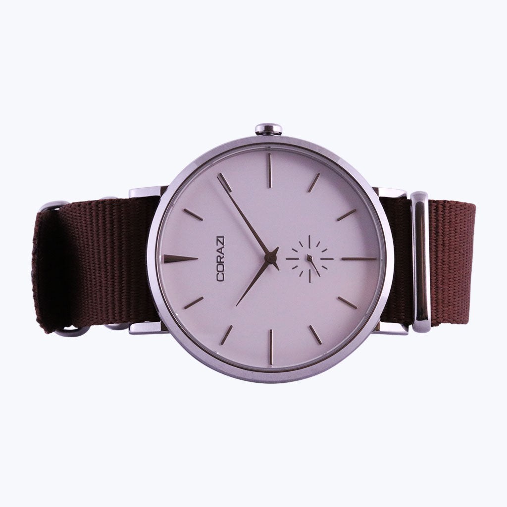 Brown Nylon Strap